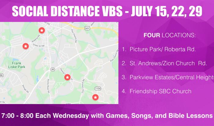 Social Distance VBS